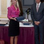Vincze Beáta (Unilever) és dr. Gajdos Róbert (Közbeszerzési Hivatal)