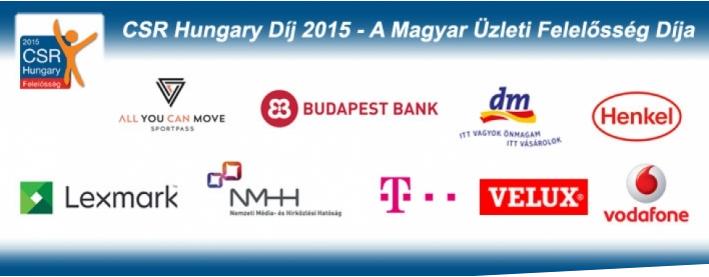 CSR Hungary Díj 2015