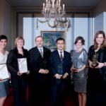 a CSR Hungary Díj 2012 nyertesei