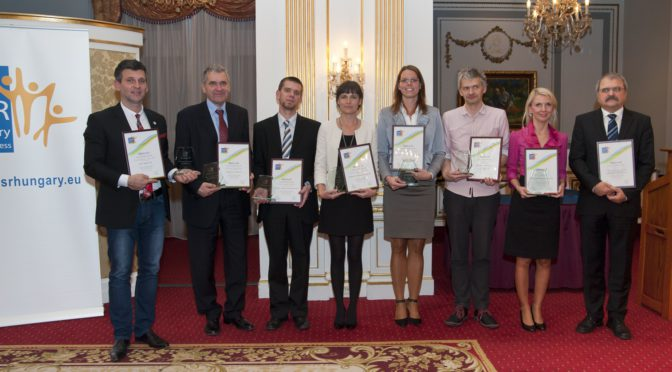 A CSR Hungary Díj 2013 díjazottjai