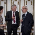 Bod Péter Ákos közgazdász, korábbi gazdasági miniszter és Roman Kowalski (lengyel nagykövet)