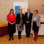 CSR Hungary Díj 2015 Bíráló Bizottság egy része és Bod Péter Ákos közgazdász, korábbi gazdasági miniszter