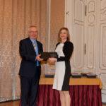Bod Péter Ákos közgazdász, korábbi gazdasági miniszter és Fábián Ágnes (Henkel Magyarország Kft./CSR Hungary Díj 2015