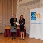 dr. Szentivány Ágnes (Joint Venture Szövetség) és Őz Beáta (Velux Magyarország Kft.)