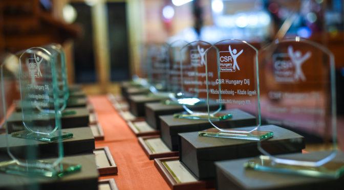 CSR Hungary Díj 2016 – a díjazottakról