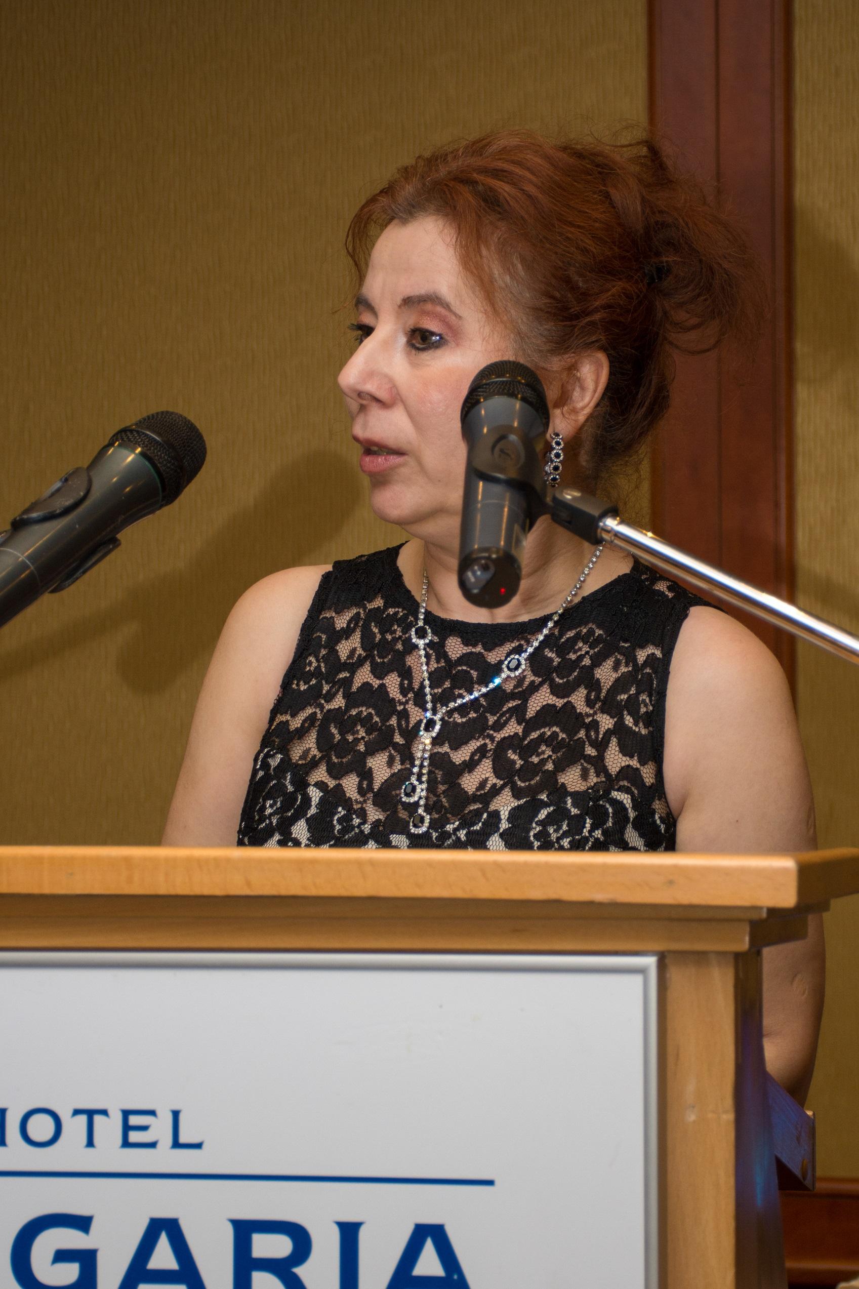 Takács Júlia, a CSR Hungary ügyvezető igazgatója, az EMVFE (Első Magyar CSR Egyesület) elnöke