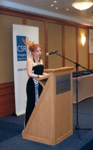 Takács Júlia, a CSR Hungary ügyvezető igazgatója